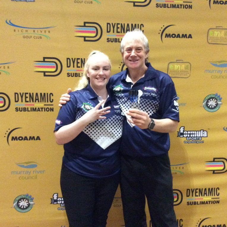 Winners Mixed Doubles Tori Kewish / Justin Thompson